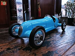Charmant A Blue Racer Bugatti Racing Car Desktop Model, Authentic Models, Stunning