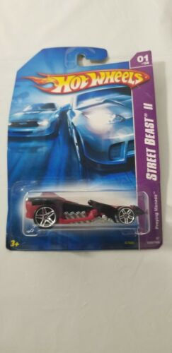 Details about  /hot wheels street beast 2 series preying menace Demage Box