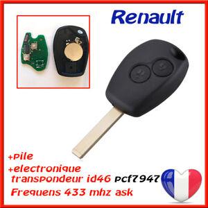 COQUE-CLE-ELECTRONIQUE-TRANSPONDEUR-Pcf7947-RENAULT-CLIO-3-KANGOO-2-MODUS-TWINGO