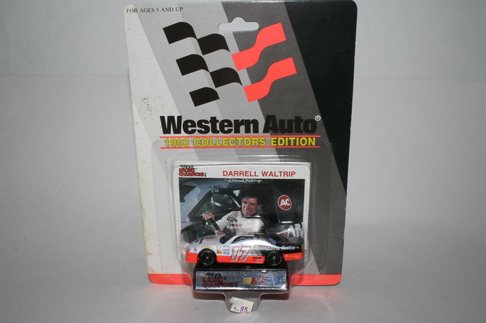 Racing Champions Western Auto 1993 Collectors Edition, Darrell Waltrip