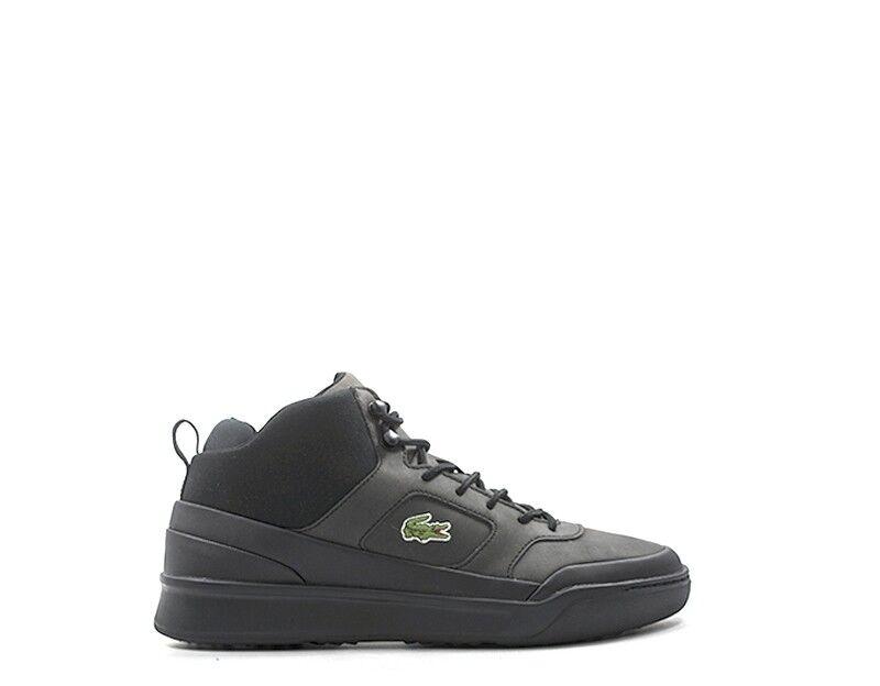 shoes LACOSTE Homme black PU,Tissu 734CAM0074-02HS