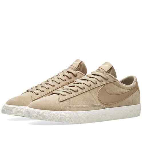 Nike Blazer Low Men/'s Casual Shoes Khaki Fresh Mint 371760 208