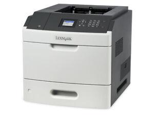 imprimante PRO lexmark laser monochrome MS811N 60ppm -reseau gigabit RJ45 -neuve