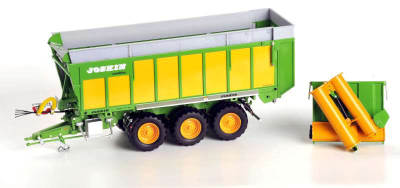 Joskin Drakkar 8600/37T180 Multi-purpose Trailer Fitted with a HPA Auger 1:32