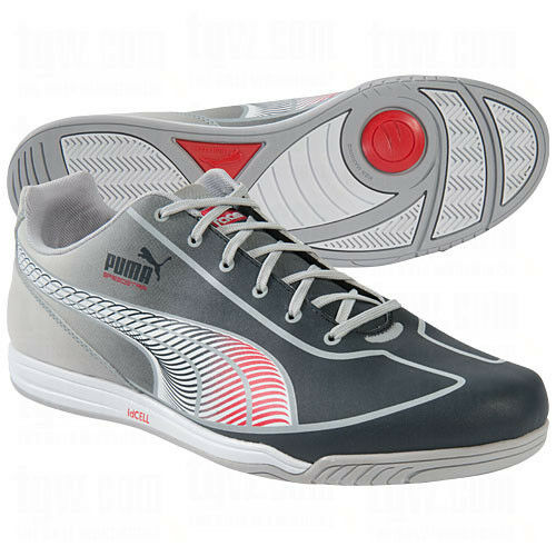 Puma Faas Speed Star Casual / Training Soccer Shoes Brand New Grey/Red/Silver