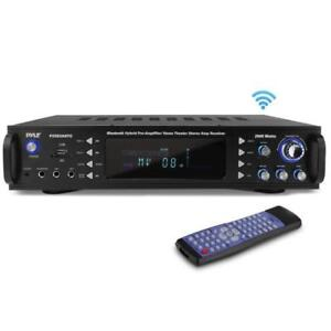 Pyle-P2203ABTU-2000W-Bluetooth-Hybrid-Pre-Amplifier-Home-Theater-Stereo-Receiver