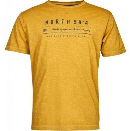 North 56 4 Hommes Extra Haut Coton Imprimé T-Shirt 01104