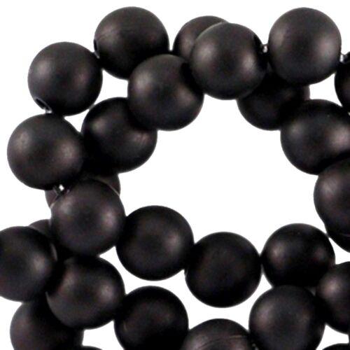100 unid. Sadingo acrílico perlas Matt plástico perlas bastelperlen-Ø 6 mm