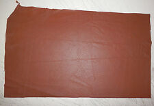 "Soft BROWN Deer Hide Leather Remnants Scraps 11""x18"" avg .6mm thick #396"