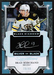 2019-20-Black-Diamond-Silver-on-Black-Brad-Marchand-Bruins-Auto-16-49