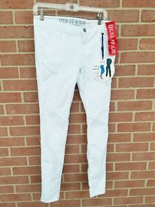 VIP-Ultimate-Butt-Lift-Women-039-s-Jeans-Size-7-8-White-Skinny-NWT