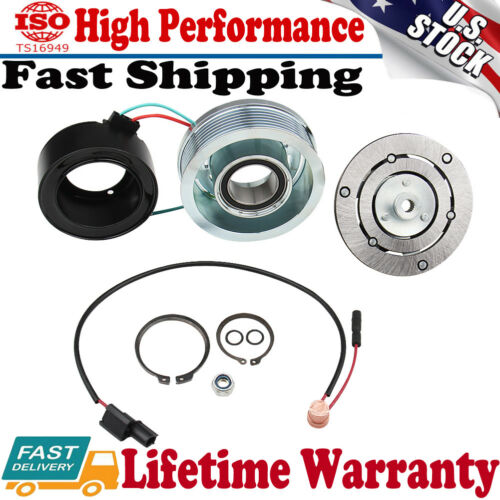 AC A//C Compressor Clutch Kit Pulley Bearing Coil Plate For HONDA CIVIC 2006-2011