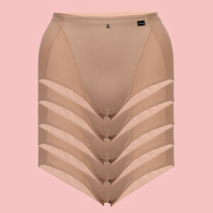 RRP $18-$58 LADY FULL SHAPER BRIEF NUDE 12-14 14-16 16-18