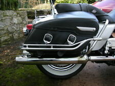 1998-2008 Harley Davidson Road King Classic Nostalgic Saddle Bag Guard Rails