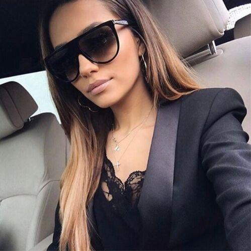 NUOVA moda tendenza donna occhiali da sole classico quadrato molto grandi bicchieri di grandi dimensioni