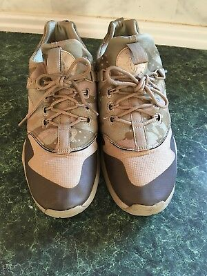 nike air huarache utility Trainer Desert Camo Khaki Olive men's size 9.5 | eBay