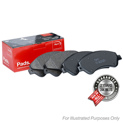 Pair Front Apec Brake Disc and Pads Set for MAZDA 3 1.6 ltr