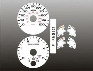 2005-2007-Ford-Truck-DIESEL-POWERSTROKE-Dash-Cluster-White-Face-Gauges-05