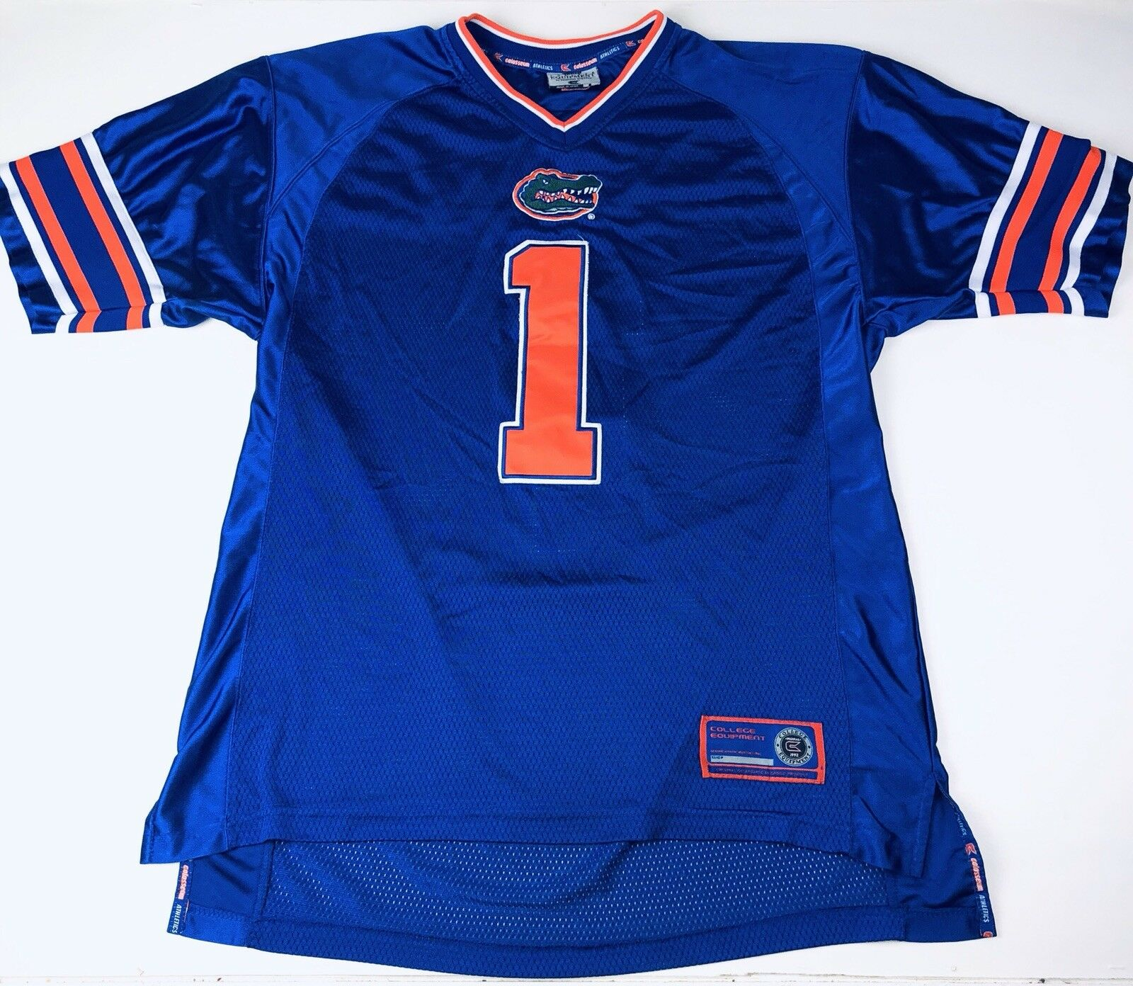 Colosseum Florida Gators Football Jersey Vintage 1992 Size Large