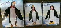 Rasta Imposta Penguin Costume Bunting Infant 6-12 Mt/ 2-4t/child Sz 7-10 Bx37 58