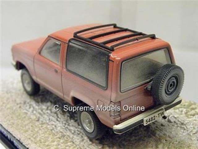 JAMES BOND FORD BRONCO II CAR CAR CAR QUANTUM OF SOLACE CRAIG RED EXAMPLE T3412Z PKD   dd7a6f