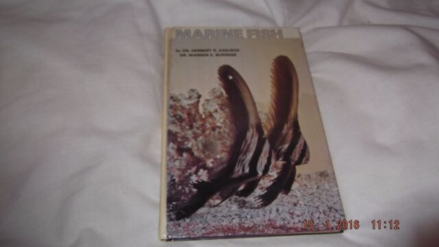 Marine Fishes by Herbert R. Axelrod, Warren E. Burgess (Paperback, 1988)