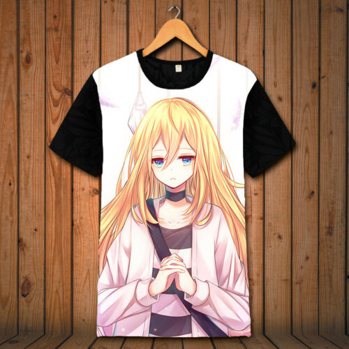 Anime Angels of Death Rachel Gardner T-Shirt à Manches Courtes Cosplay Costume Top
