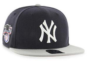 04cf0b129b658 NEW YORK YANKEES MLB SURE SHOT FLAT BILL 2-TONE SNAPBACK CAP HAT NWT ...