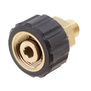 Wash-Jet-Male-1-4-To-Female-M22x1-5-Adapter-Quick-Connector-14mm-Socket