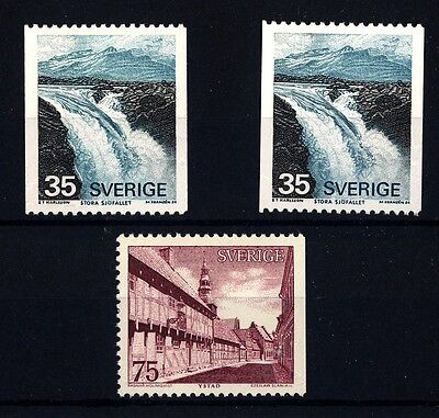 SWEDEN - SVEZIA - 1974 - Vedute diverse. Cascate di Stora Sjofallet - Ystad