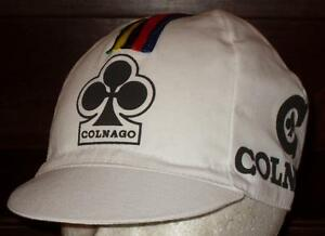 Brand-new-classic-Colnago-Cycling-cap-Italian-made-Retro-fixie