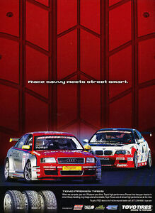 Classic Vintage Advertisement Ad D25 2005 Toyo Proxes Tires BMW Audi