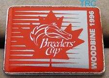 OFFICIAL 1996 BREEDERS CUP HORSE RACING LAPEL PIN FROM WOODBINE RACE COURSE!