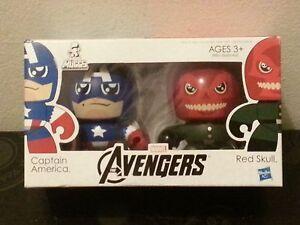 Hasbro-AVENGERS-MINI-MUGGS-Captain-America-Red-Skull-Brand-New-Mighty-Heroes