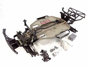 Details about NEW TRAXXAS SLASH 2wd COMPLETE CHASSIS KIT ROLLER ARMS TOWERS  MAIN FRAME 58024