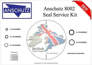 Full-Premium-Seal-Service-kit-Fits-ANSCHUTZ-8002-New-All-Models
