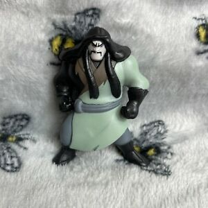 F212 Disney Mini Figure Toy Character Mulan Cartoon Rare Villain Shan Yu