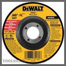 DEWALT DW4547 7-Inch by 1//4-Inch High Performance Fast Metal Grinding Wheel 7//8-Inch Arbor