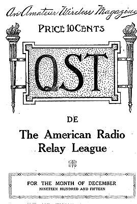 QST Magazine 1916 thru 1963 - 558 issues * Ham Radio * DVD * Adobe PDF