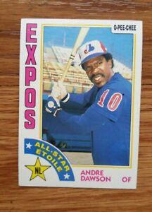 1984-O-Pee-Chee-Montreal-Expos-Baseball-Card-392-Andre-Dawson-AS-EX