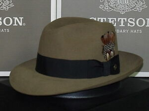 844ba40dcd71f Image is loading LEGENDARY-INDIANA-JONES-STETSON-TEMPLE-SOFT-FUR-FELT-