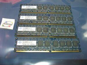 RAM-1GB-NANYA-NT1GT72U8PB0BY-3C-USED-QTY-4