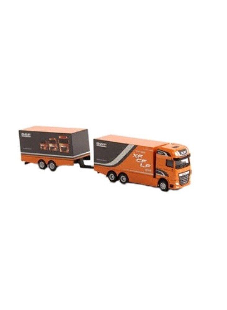 Ven a elegir tu propio estilo deportivo. Ventilador Muy Muy Muy Raro DAF XF SSC camión de remolque Naranja euro 6 1 87 WSI (Distribuidor Modelo)  autorización