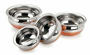 Copper-Bottom-Cookware-Handi-Set-For-Cooking-amp-Serving-set-of-4