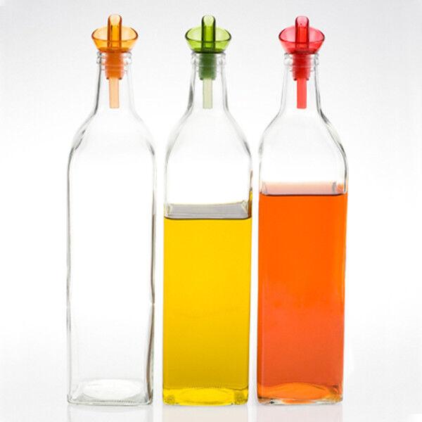 1 lt. Öl und Essig Flasche Ölspender Essigspender Behälter Essigbehälter