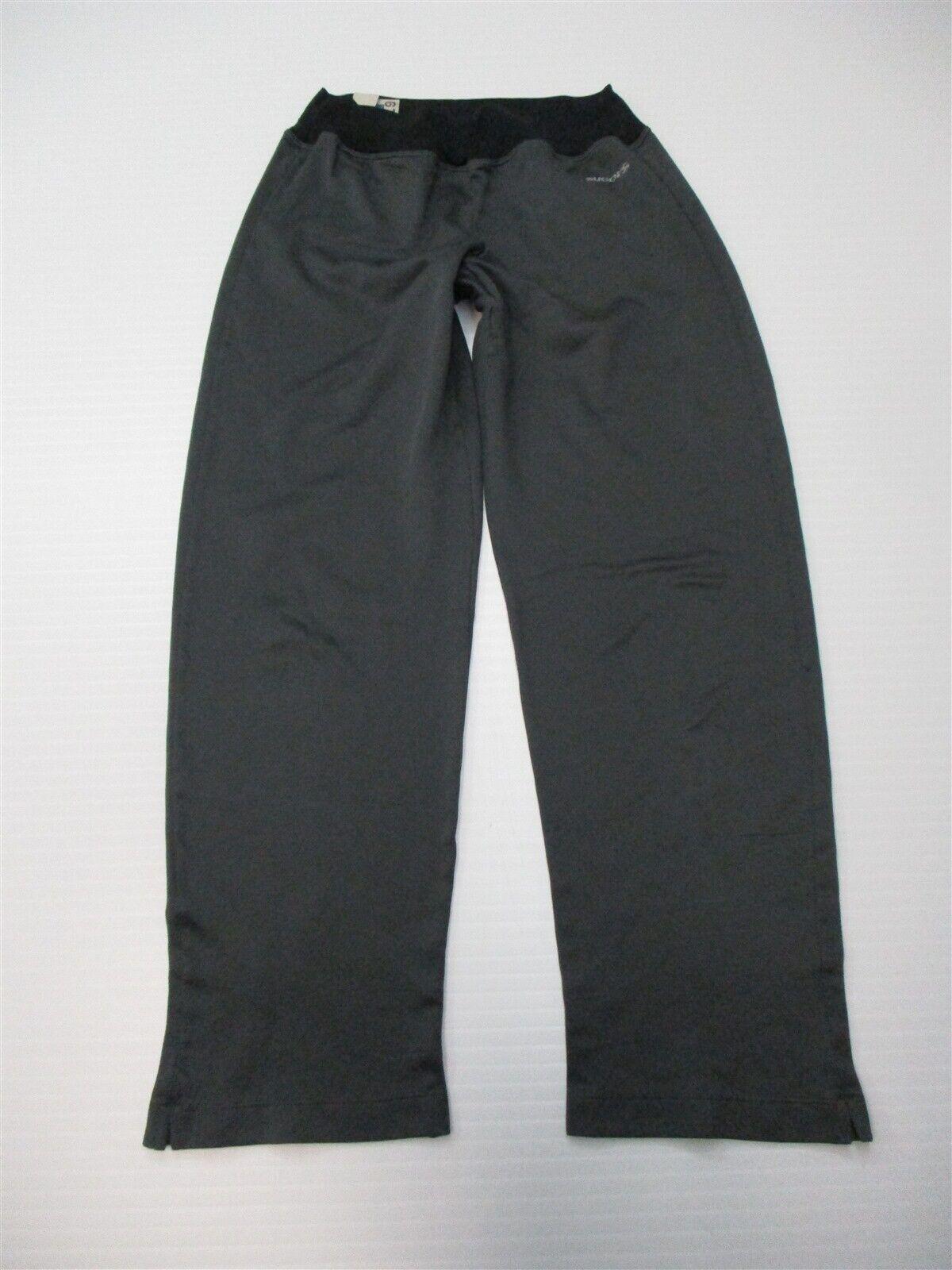 SUGOI Women's Size S Lightweight Running Gray Mesh High Waist Capri Pants