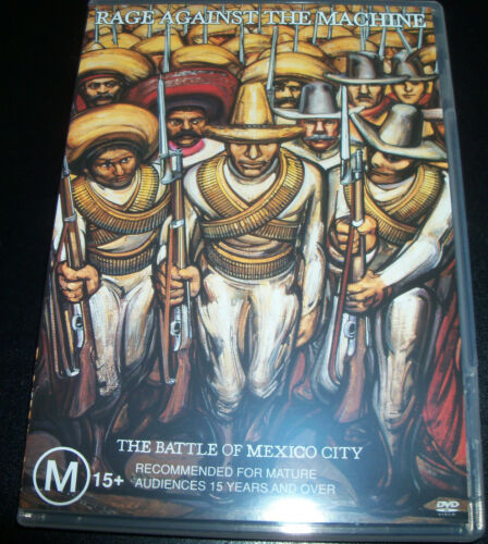 1 of 1 - Rage Against The Machine The Battle Of Mexico City (Aust All Reg) DVD - Like New