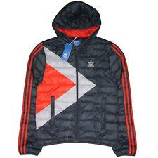 adidas Originals Men's Bobsled Down Jacket Padded Warm Winter Thrermal Small