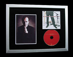 HUGH-CORNWELL-STRANGLERS-SIGNED-FRAMED-FALL-RISE-100-AUTHENTIC-FAST-GLOBAL-SHIP