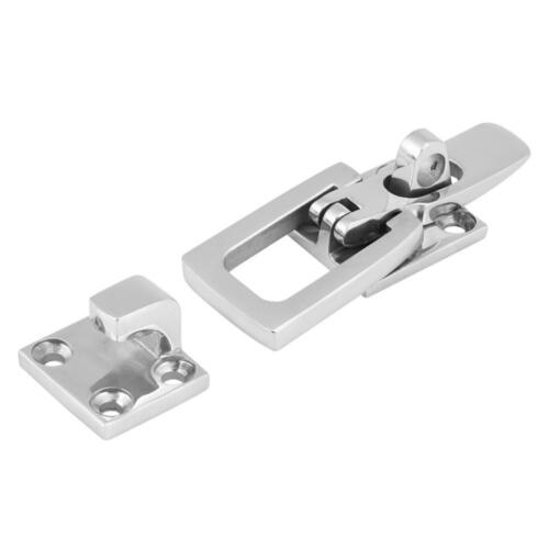 Stainless Steel Marine Boat Anti-Rattle Locker Hatch Latch Clamp Fastener 70MM A